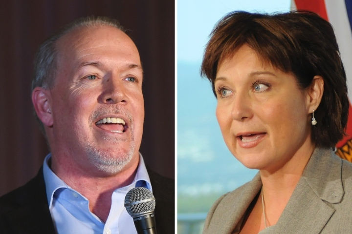 ndp-leader-john-horgan-and-the-liberal-party-s-christy-clark-photo-dan-toulgoet
